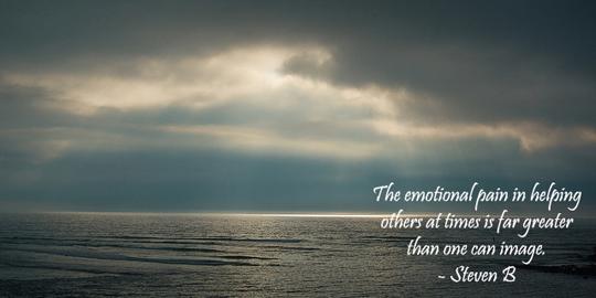 emotional pain - 3-26-2013