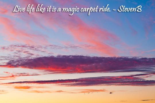 Magic carpet ride - 7-18-2013