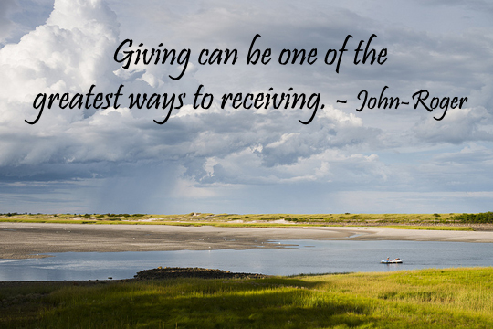 Giving - 9-8-2013