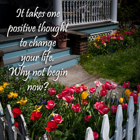 Positive Thought - 8-25-2013