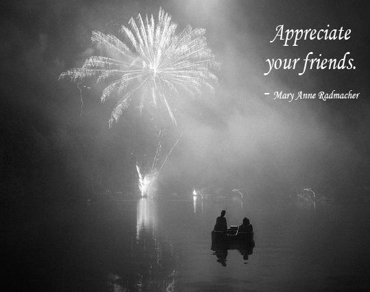Appreciate Your Friends - 11-17-2013