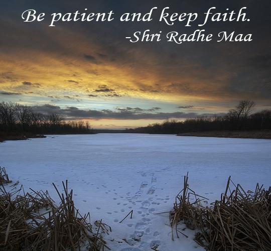 Be Patient - 11-17-2013