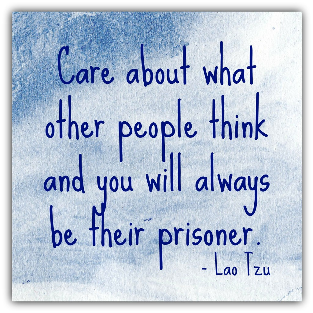 Care about what other people think 3-10-2015